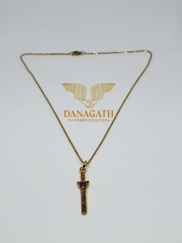 Dije Espada San Miguel Arcángel
