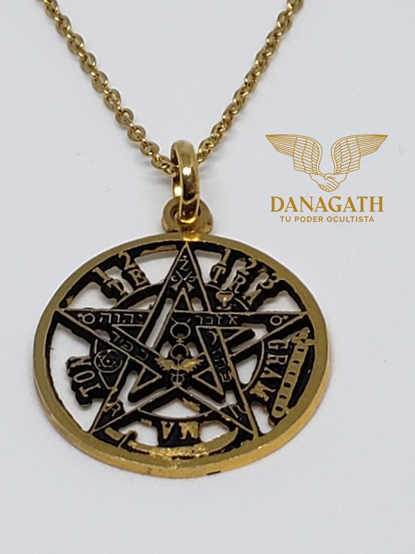 Medalla, Dije Pentagrama Tetragramatón