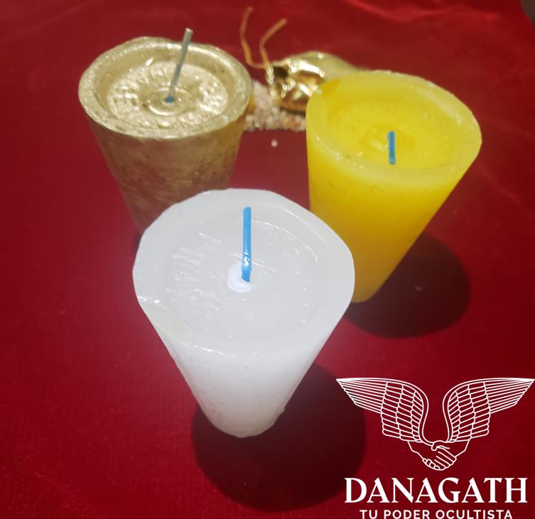Veladoras Consagradas Para Ritual De Dinero Arcángel Jofiel.